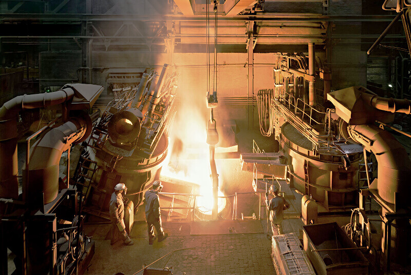 Silbitz Group's modern foundry and casting technology