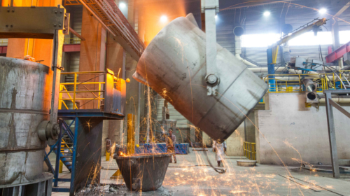 Processing of ductile spheroidal cast iron